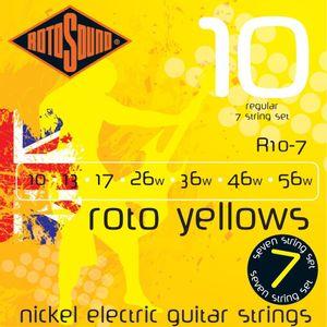 ENCORDOAMENTO-GUITARRA-ROTOSOUND-R10-7--ROTO-YELLOWS--010-7-CORDAS