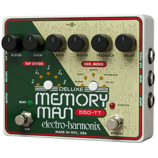 Electro-Harmonix-Deluxe-Memory-Man-550-Tap-Tempo