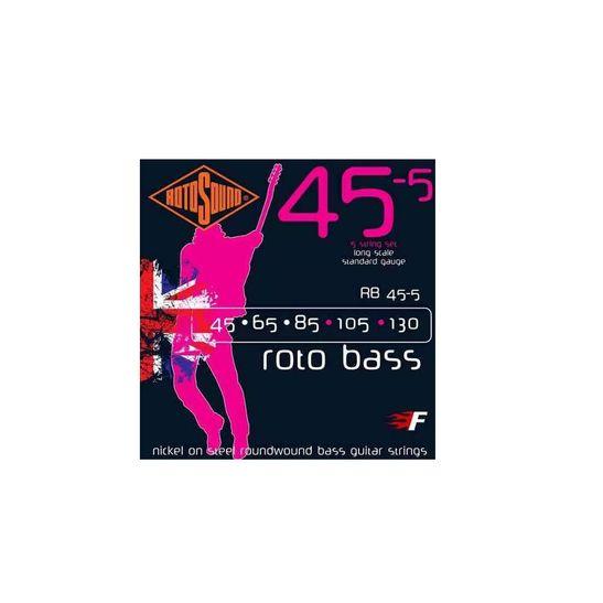 Rotosound-Rb45-5-Roto-Bass-Cordas-Para-Baixo-5-Cordas