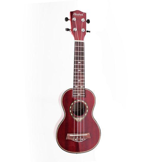 Ukulele-Akahai-Ronsani-IZ-21-Soprano-Mahogany-Wine