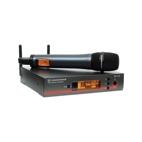 MICROFONE-SENNHEISER-EW135-G3-SEM-FIO-UHF-COM-BASTAO-E835-G3