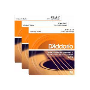 DADDARIO-EJ15-3D-ACO-010-3-SET