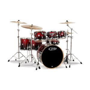BATERIA-PDP-CONCEPT-MAPLE-PDCM2217RB-7PCS-REDBLACK--SHELL-PACK-