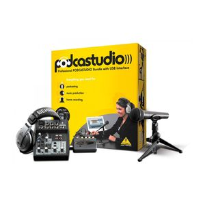 KIT-STUDIO-PODCASTUDIO-BEHRINGER-USB