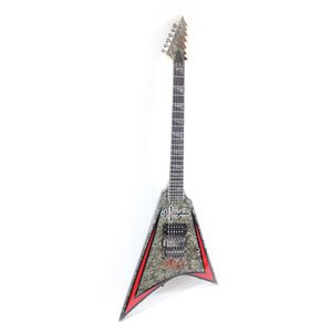 Guitarra-ESP-Custom-Shop-Alexi-Laiho-Black-Diamond-Perola-V--USADO-