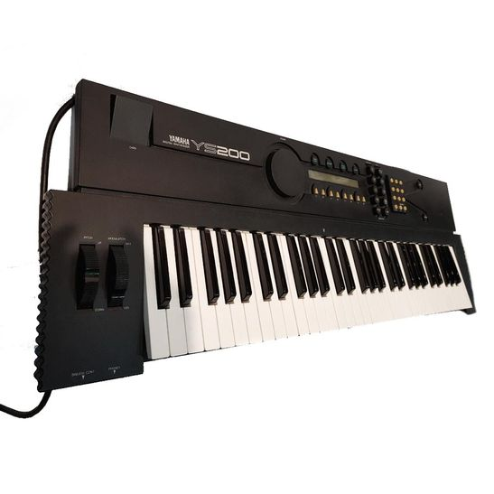 Teclado-Yamaha-YS-200--Usado-