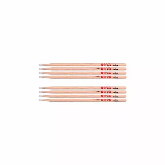 Kit-De-4-Pares-Baqueta-Nova-By-Vic-Firth-7an-Nylon