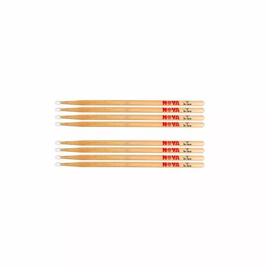 Kit-De-4-Pares-Baqueta-Nova-By-Vic-Firth-5bn-Nylon