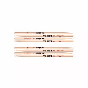 Kit-De-4-Pares-Baqueta-Vic-Firth-5an-American-Classica-Nylon