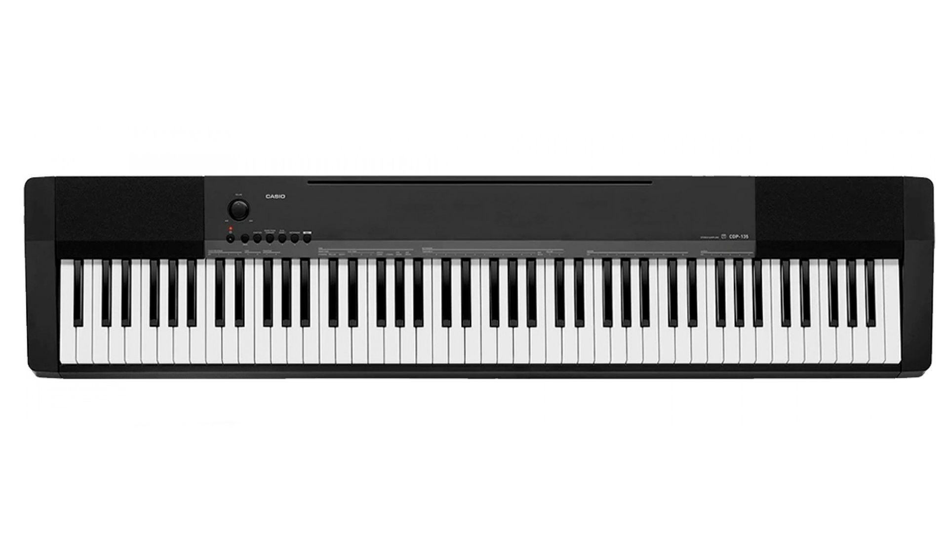 c003f5f98cf PIANO DIGITAL CASIO CDP-135BK 88 TECLAS - X5Music
