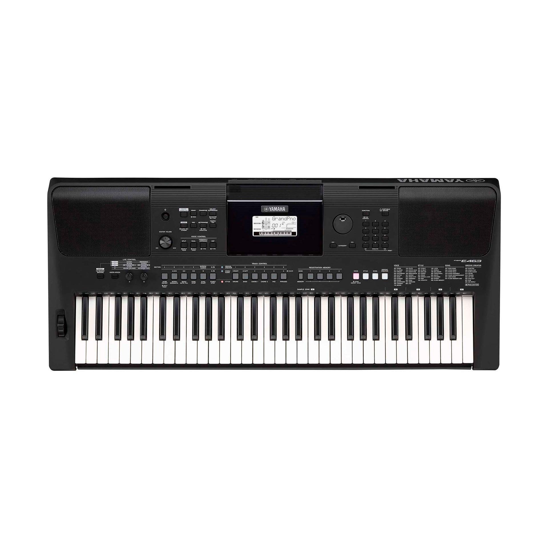 TECLADO YAMAHA PSR E-463 - X5Music