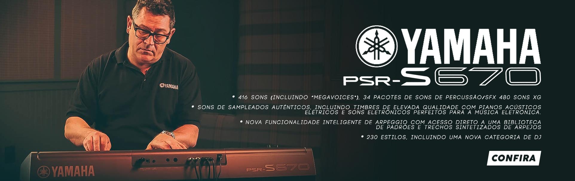 Yamaha PSR S-670