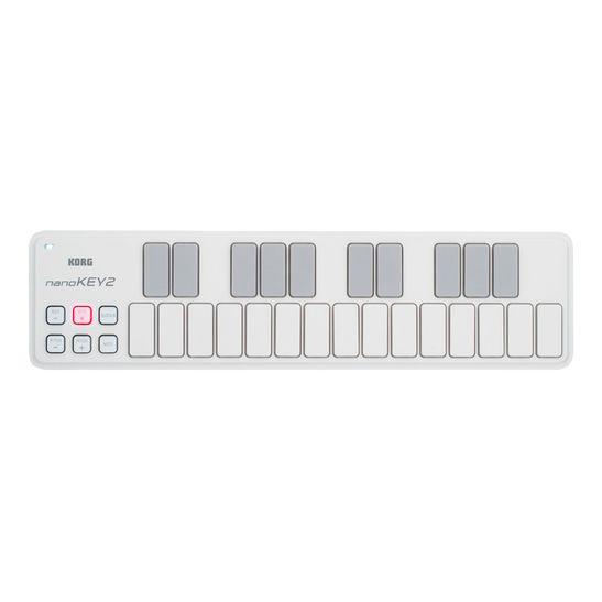 CONTROLADOR-KORG-USB-MIDI-NANOKEY-2-WH