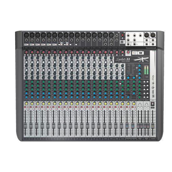 MESA-DE-SOM-SOUNDCRAFT-SIGNATURE-22-MTK-MULTI-TRACK-USB-22-CANAIS