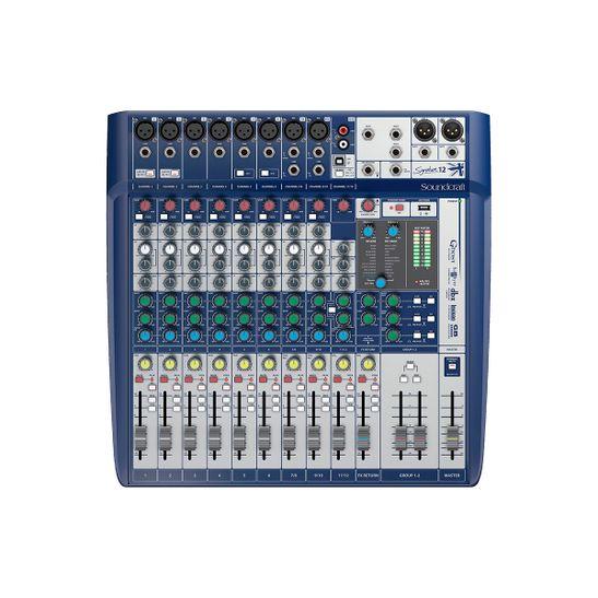 MESA-SOUNDCRAFT-SIGNATURE-12-USB-12-CANAIS