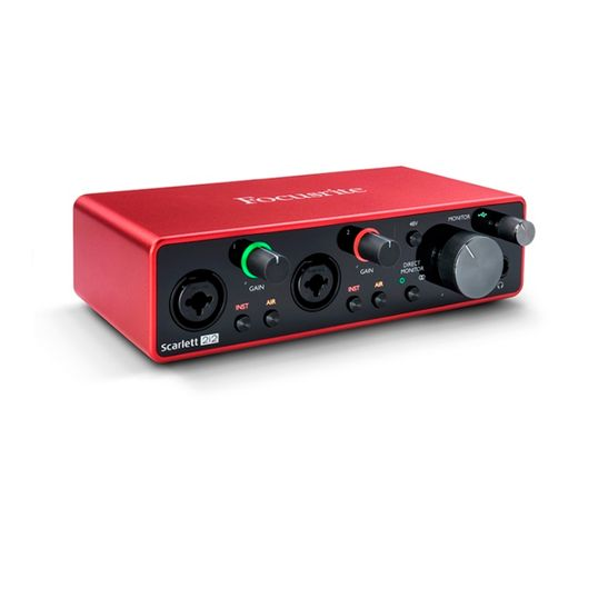 Interface-de-Audio-Scarlett-2i2-3ª-Geracao-Focusri