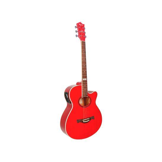 Violao-Tagima-Dallas-Vermelho-Transparente