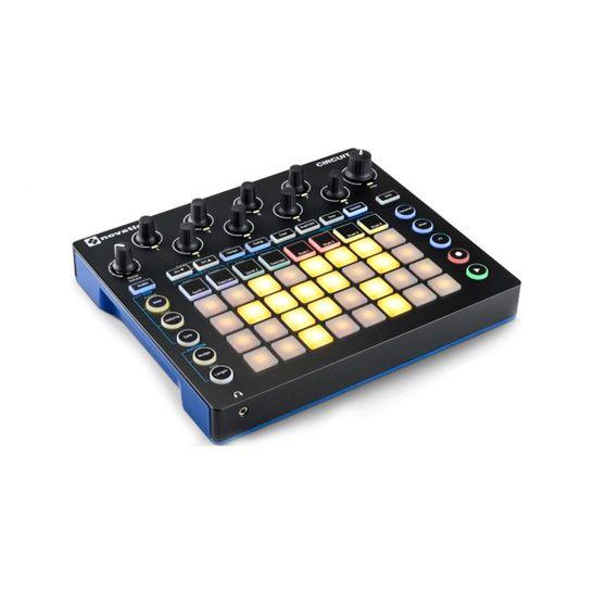 Controlador-de-audio-Sintetizador-e-Drum-Machine-Novation-Circuit