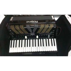 Acordeon-Roland120bx-Fr-7x-Preto--usado-