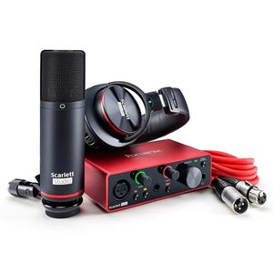 KIT-INTERFACE-FOCUSRITE-SCARLETT-SOLO-STUDIO-CM25-HP60