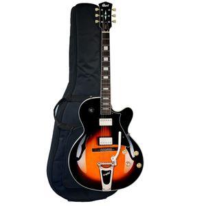 Guitarra-Semi-acustica-Cort-YORKTOWN-BV-TAB-W-Ponte-Bigsby-com-Bag