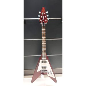 GUITARRA-BENSON-BGV-RR-2450-WR-FLYING-V-VERMELHA-SHOWROOM-ok