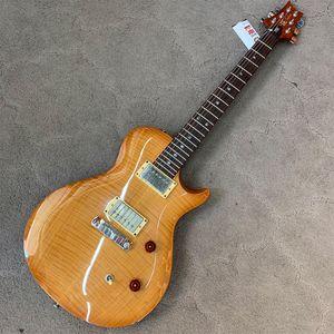 Guitarra-Prs-Se-Singlecut-Captador-Dragon-Usa-Honey-Flamed-Usado-off